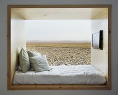 this alcove bed kinda looks like a huge window seat Interior Exterior, Interior Architecture, Modern Interior, Hospital Architecture, Kitchen Interior, Alcove Bed, Bed Nook, Bedroom Nook, Bedroom Ideas