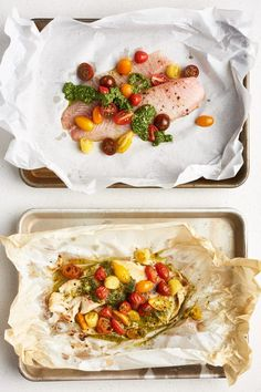 Tomato pesto Fish These 9 Fish Dinners Need Only 3 Ingredients and a Glance — Snapshot Cooking Dinner Outfits, Seafood Recipes, Cooking Recipes, Dinner Recipes, Cooking Videos, Meal Recipes, Cooking Tools, Kitchen Recipes, Gastronomia