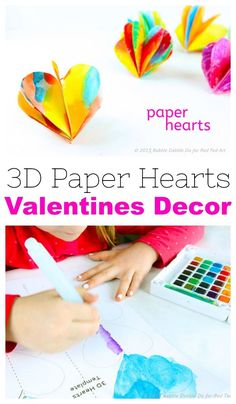 The best of the best Valentine's Crafts for Kids! find everything from clever heart shaped animals, DIY Valentine's Day Cards and a range of fabulous heart crafts for kids. Valentine's Day Crafts For Kids, Valentine Crafts For Kids, Valentines Day Party, Toddler Crafts, Preschool Crafts, Summer Crafts, Craft Presents, Paper Hearts, Valentine's Day Diy
