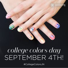 https://flic.kr/p/xTFNbe   College Colors Day Come get yours here! https://heathert82.jamberry.com