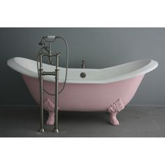 'The Mount Grace' from Penhaglion 73-inch Cast Iron Bathtub | Overstock.com Shopping - Big Discounts on Claw Foot Tubs $3,492.99