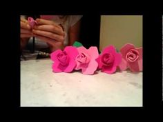 How to: Make easy crafty foam flowers ~ Mothers day Valentines day- Any ...