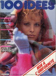 100 Idées n° 120 - octobre 1983 - couverture - photo Patrice Degrandry.