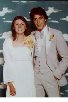 17-year-old George Clooney at his prom in 1978