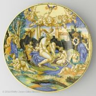 Dish with the arms of the Pucci family of Florence | Louvre Museum | Paris