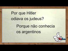 Por que Hitler odiava os judeus- As Melhores Piadas - YouTube