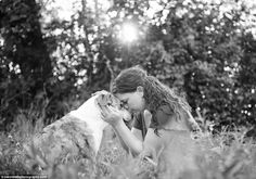 (Warning! I bawled my eyes out looking at these... ) Last moments: The beautiful, yet heartbreaking pictures, are meant to highlight the relationship between pet and owner before they pass.  Emotional: The photographer said the sessions are for people who want to 'celebrate the happiness' their pets have brought to their lives