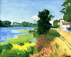 Herblay, Summer, Banks of the Seine Albert Marquet - 1919