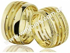 9316fdcdbb1f1 Aliança de noivado e casamento Aliança em ouro amarelo 18k 750 Peso  20  gramas o