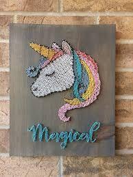 Bildresultat för Unicorn string art