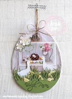 Marianne Design: Creatables Dies - Mother Goose-Creatables Dies - Mother Goose A great spring die set with a mother goose and two babies. Makes beautiful spring/summer projects. Marianne Design Cards, Mother Goose, Beach Cards, Easter Parade, Bird Cards, Spring Colors, Happy Easter, Diy And Crafts, Craft Projects