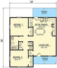 Plan 3473VL: Cottage Escape