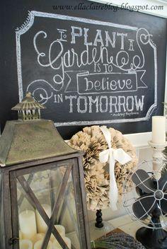 Chalkboard Drawing Tutorial {Ella Claire}: {Simplified} Chalkboard Drawing Tutorial~ How to draw on a chalkboard, the easy way!{Ella Claire}: {Simplified} Chalkboard Drawing Tutorial~ How to draw on a chalkboard, the easy way! Chalkboard Drawings, Chalkboard Lettering, Chalkboard Paint, Chalkboard Signs, Chalkboards, Chalkboard Ideas, Chalkboard Writing, Chalkboard Template, Blackboard Art