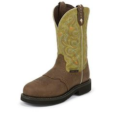 Justin Women's 11 Inch Gypsy Collection Work Boot Style: JWKL9302 Country Outfitter, Cowgirl Boots, Fashion Boots, Gypsy, Composition, Shoes, Collection, Wedding, Style