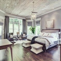 Awesome 39 Decorating Farmhouse Master Bedroom on A Budget https://toparchitecture.net/2018/03/03/39-decorating-farmhouse-master-bedroom-budget/