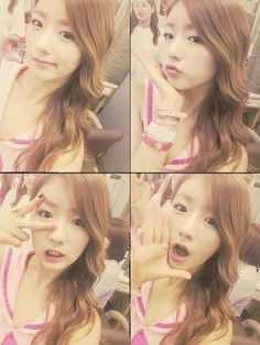 APink Bomi selca  Credit to ACube twitter and APink Town and APink 에이민크