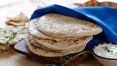 Flatbread Pizza, Frisk, Naan, Easy Peasy, Diet, Breakfast, Health, Ethnic Recipes, Desserts