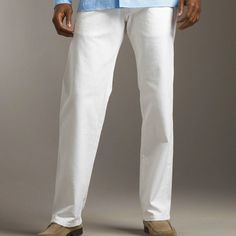 How to rock the white pants..