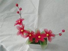 Nylon flower - CraftStylish