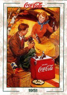coca cola advertising history - Google Search