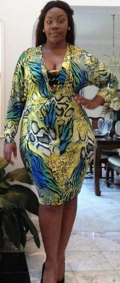 #SOLD - Multi-Color Animal Print Dress, Size 3x by Good Time #superute #itsgone #toolate #size3x #dress #goodtime #curvyfashion #cuteclothes #plussize #stylish #fashion #curvy #bodycon More cute curvy clothes at urbanthick.com in Tameka's Closet!