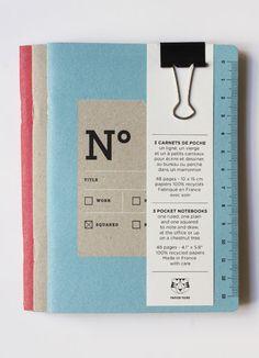 carnet notebook petit small poche pocket The Bureaucrats fonctionnaires papier tigre