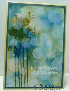 Bokeh-Technik Bokeh, I Card, Painting, Art, Stamping, Crafting, Art Background, Painting Art, Kunst