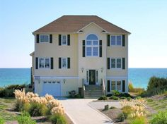 Emerald Isle Vacation Rental - VRBO 261040 - 6 BR Central Coast House in NC, Luxury 6 BR Oceanfront! Pool, Elevator, Spa - Week 4-11 May Red...