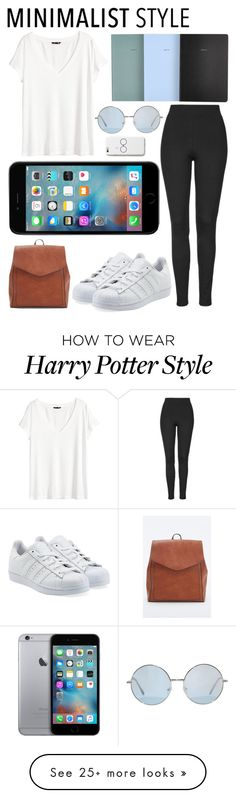 """""""Untitled #237"""" by girlonline on Polyvore featuring Urban Outfitters, H&M, Topshop, adidas Originals, women's clothing, women, female, woman, misses and juniors"""