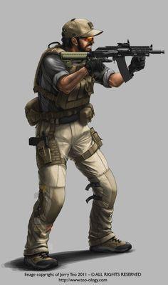 PSC+with+AKS-74U+by+Jerry-Teo.deviantart.com+on+@deviantART