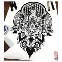 Geometric Budhha