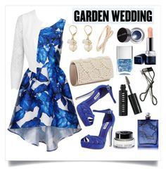 The Perfect Garden Wedding by alaria on Polyvore featuring polyvore, fashion, style, Chi Chi, Miss Selfridge, Dune, The Limited, Kate Spade, Bobbi Brown Cosmetics, Christian Dior, The Beautiful Mind Series, Nails Inc., contestentry and gardenwedding