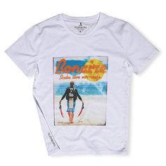 Scuba Diving in Bonaire is incredible. Carry the vibe of scuba in paradise with this tropical scuba printed T-shirt. A scuba gear essential for all divers. Dove Brand, Organic Cotton T Shirts, Clothing Co, Sweater Hoodie, Male Models, Perfect Fit, The Incredibles, Pure Products, Scuba Diving