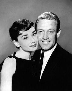 Audrey Hepburn with Bill.