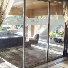 Shower doors.  ETCHED Fx 0.012 in. x 9 in. Stacked Stone Premium Glass Etch Window Film-GE4012 - The Home Depot