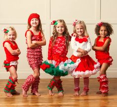 Love this website! So many CUTE Christmas outfits for a little girl! :)