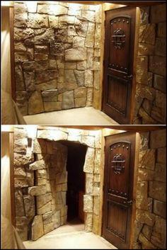 Inspirational Building A Secret Room In A Basement