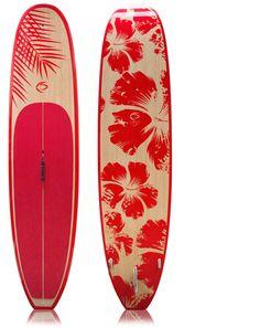 (http://creedsup.com/talon-11-surf-and-flatwater-hybrid-paddleboard-hibiscus-graphic/) #SundanceBeach #DestinationBikini