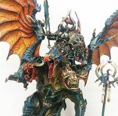 Warhammer Aos, Warhammer Models, Warhammer Fantasy, Thousand Sons, Warhammer 40k Miniatures, War Hammer, Fantasy Miniatures, Mini Paintings, Fantasy Inspiration