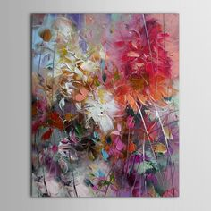 100% Hand Painted Oil Painting Abstract on Canvas Wall art for Home Decor 40x50cm
