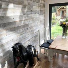 Reclaimed Solid Wood Wall Paneling – Home Renovation Vinyl Wall Panels, Wood Panel Walls, Plank Walls, Wood Planks, Wood Paneling, Wall Panelling, Reclaimed Wood Wall Panels, Allure Flooring, Peel And Stick Wood