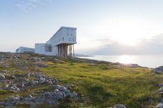 Fogo Island Inn / Saunders Architecture (Main Street, Fogo, NL A0G, Canadá) #architecture