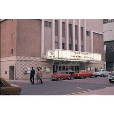 This photograph shows the Odeon Cinema in West Street on the day of its closure in April Brighton Rock, Brighton Sussex, Brighton And Hove, Cinema Theatre, Cinema West, Seaside Shops, Cinema Architecture, Old Photos, Vintage Photos