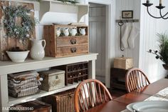 FARMHOUSE 5540: Christmas In The Dining Room