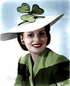 "Maureen O'Hara, ""The luck of the Irish"""