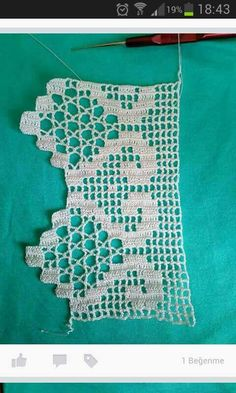This post was discovered by Ilknur Eroglu. Discover (and save!) your own Posts on Unirazi. Crochet Edging Patterns, Crochet Lace Edging, Crochet Borders, Crochet Art, Vintage Crochet, Crochet Crafts, Crochet Stitches, Crochet Projects, Free Crochet
