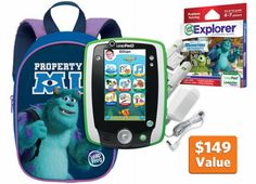 #Disney #MonstersU #LeapFrogWishList My boys could have a blast with this!
