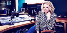 Lauren Laverne behind the mic Lauren Laverne, Latest Trends, Dj, Lifestyle, Bobs, Casual, Fashion Tips, Inspiration, Shopping