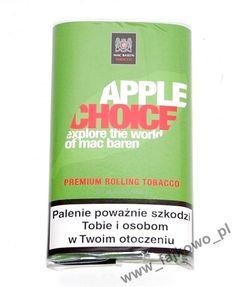 Tytoń papierosowy Mac Baren Apple Choice 40g - Sklep Fajkowo.pll - Fajki, E-papierosy, Cygara, Cygaretki, Tabaka
