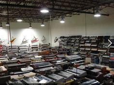 Moog warehouse..